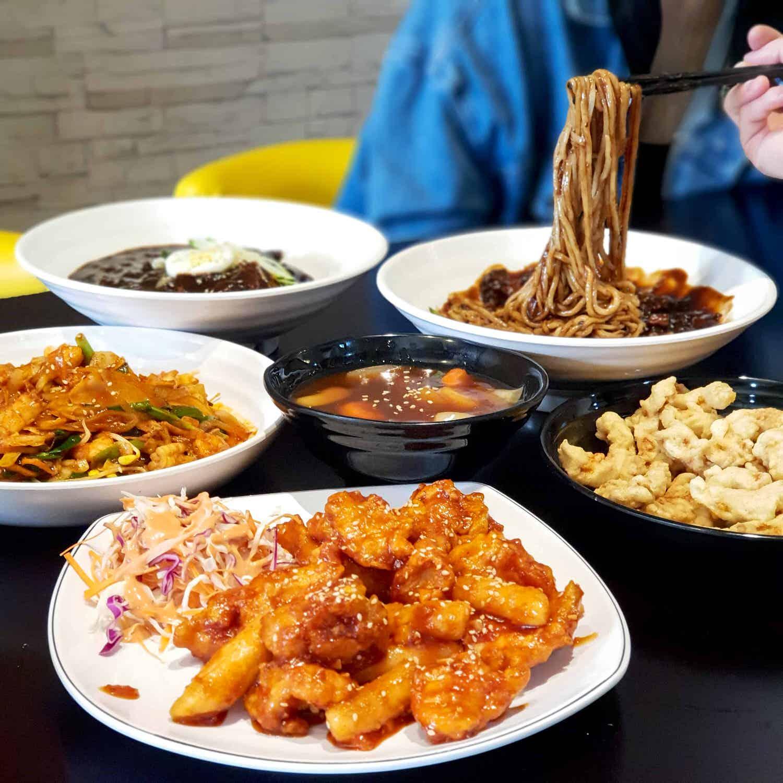 滿月보름달 韓式正統炸醬麵