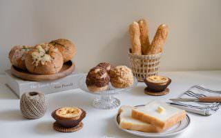 台北通化街美食|大師傅蛋塔工坊-隨時都是出爐時間,看似平凡的麵包店卻不平凡