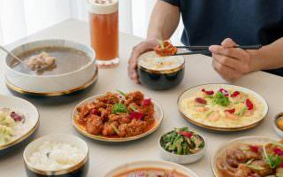 高雄鳳山|好夥伴咖啡雙慈店-波西米亞風格的空間裡,品臺菜料理與浮誇熔岩鹹蛋黃舒芙蕾