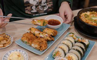 台北大安|Woodid우리手作韓食-仁愛圓環附近的平價韓式料理,可愛的柴柴陪吃飯