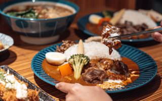 高雄鳳山|天狗咖哩家-多種創意咖哩吃法,在咖哩上淋上奶油球的罪惡饗宴