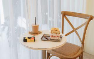 新北板橋|Hearty哈媞手作三明治-韓系盒裝吐司,奶油黃壁面溫潤了早晨
