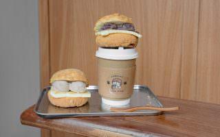 台北大安|偏偏pien pien 日式餐包小賣所-一球一球的芋泥,與菠蘿麵包搭配的美好